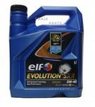 Elf Motorolie  Evolution SXR 5W-40  5 Liter